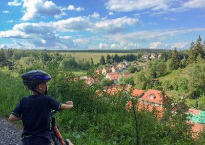 Tanne im Harz - Radtour